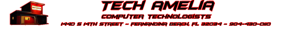 Tech Amelia - Computer Repair Shop - Laptop Repair - PC Repair Amelia Island - Fernandina Beach 32034 - Yulee 32097
